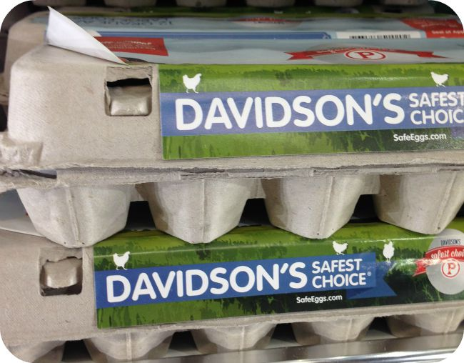 davidson's safest choice pasteurized eggs
